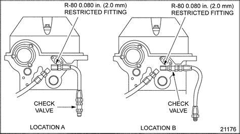 detroit 60 series fuel system diagram series 60 fuel return check valve detroit diesel