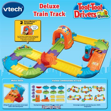 Vtech Deluxe Track Set vtech baby toot toot drivers new deluxe track set