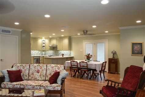 before and after a closed off kitchen opened up porch expanding a closed off kitchen creates a family friendly