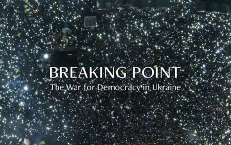 breaking point film about war in ukraine wins best documentary