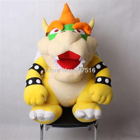 Boneka Mario Bros Luigi Big Size 40cm High Quality Terbaru 17cm new mario baby bones bowser jr soft stuffed plush toys doll free shipping