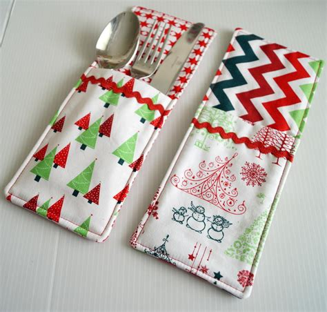sewing pattern ideas free cutlery pockets sewing pattern allfreesewing com