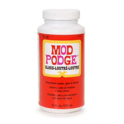 Is Decoupage And Mod Podge The Same - decoupage mod podge 174 gloss 473ml