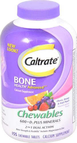 caltrate bone health advanced cherry orange fruit punch