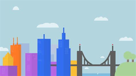 flat design wallpaper vector google inspired wallpaper morning by brebenel silviu on