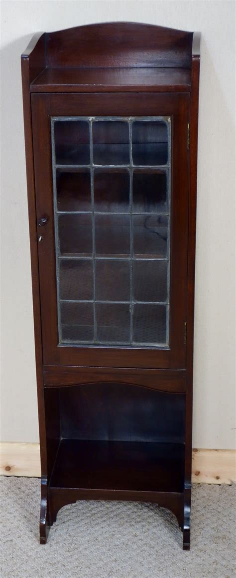 narrow mahogany bookcase narrow small liberty co mahogany display cabinet