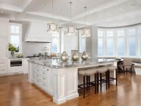 big kitchen island kitchens pinterest