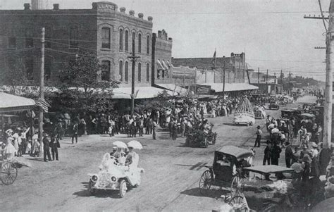 Four Tx 4 Th Of July 1908 Midland Tx History