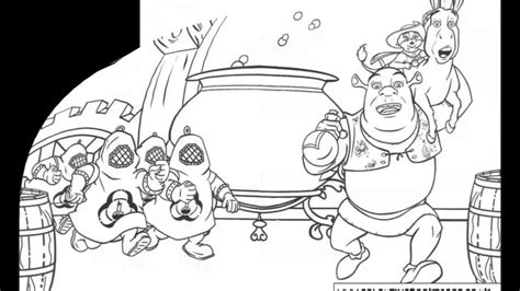shrek coloring pages games coloring pages shrek colouring pages and kids colouring