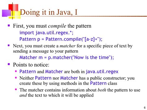 java pattern match line 16 java regex
