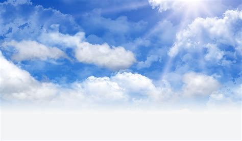 imagenes de nuves blancas illustration gratuite jour ciel nuage soleil bleu