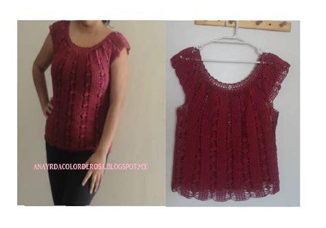 videos de como hacer blusas tejidas a crochet blusa sencilla tejida a crochet paso a paso youtube