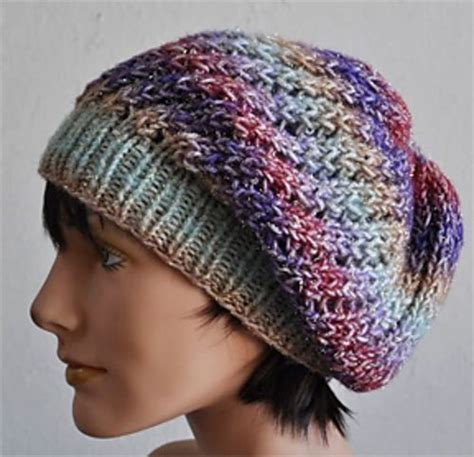 knitting patterns for slouchy hats free 1000 images about knitting on knitting