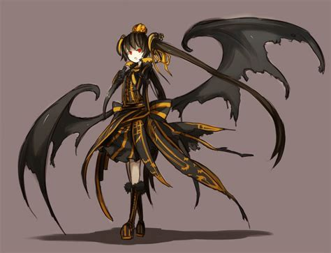 anime demon dark demon anime girl everything anime pinterest