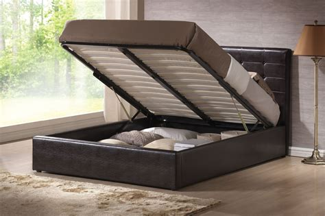 bed that lifts up modern black leather upholstered queen bed frame with lift up base of wondrous queen