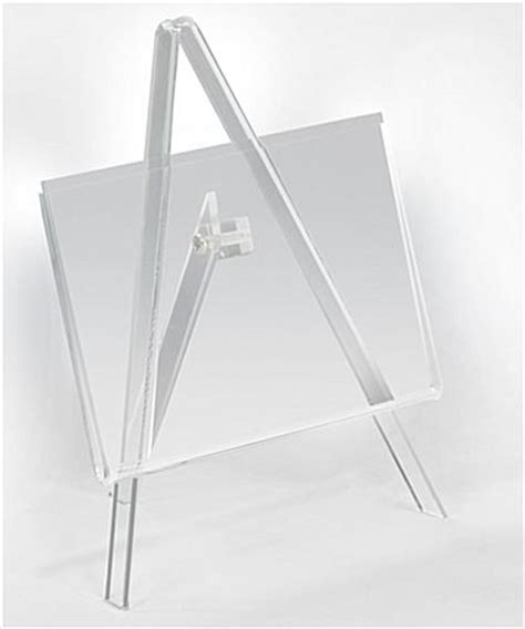 One Shanks Acrylic Stand 2d acrylic easel w 5 quot x 3 5 quot photo frame for tabletop use