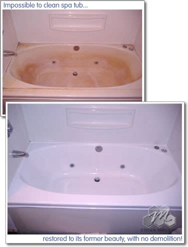how to refinish acrylic bathtub acrylic bathtub refinishing miracle method