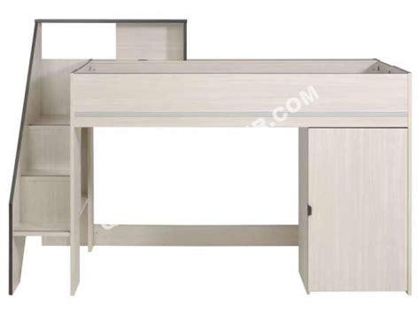 combiné lit bureau conforama lit conforama lit haut 90 cm gravity au meilleur prix