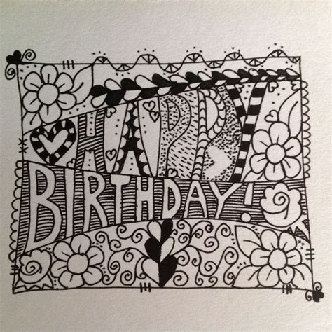 Happy Birthday Drawing Cliparts Co Animated Birthday Card Drawing With Color