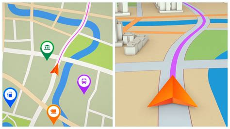 map gps navigator seamless loop motion background modern gps navigation arrow moving forward on a map