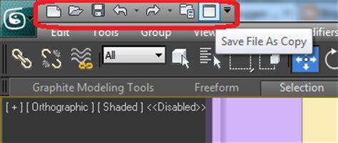 mostrar barra superior autocad aytuto modificar la barra de acceso r 225 pido en 3d studio