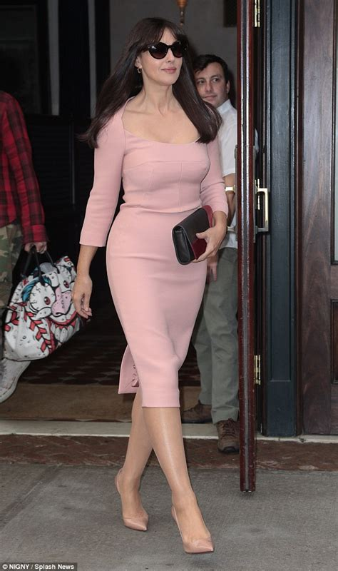 monica bellucci today monica bellucci promotes spectre in new york looking every
