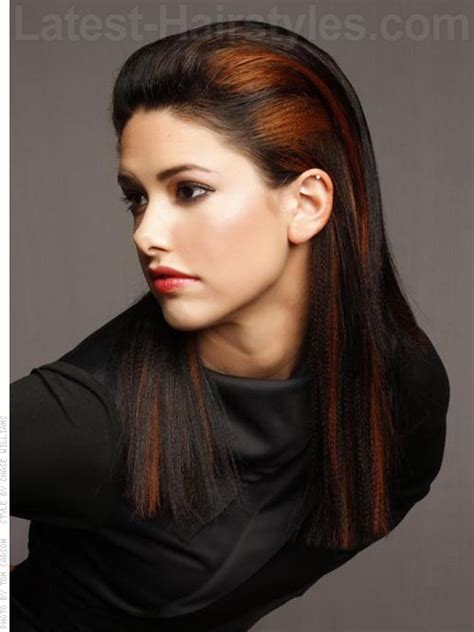 hair swept back related keywords suggestions for sleek hairstyles