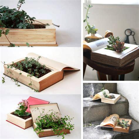Diy Book Planter by Diy Ideas Creative Book Recycling