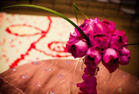 Wedding Aisle Bouquets by Gorgeous Pink Diy Bridal Bouquet And Petal
