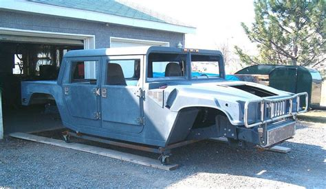 handmade hummer  replica built  ford parts including  frame carscoops