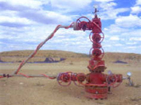 drilled christmas tree gas well site completion free osha