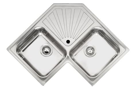 Reginox Montreal Double Bowl Corner Sink Reginox Kitchen Sinks Montreal