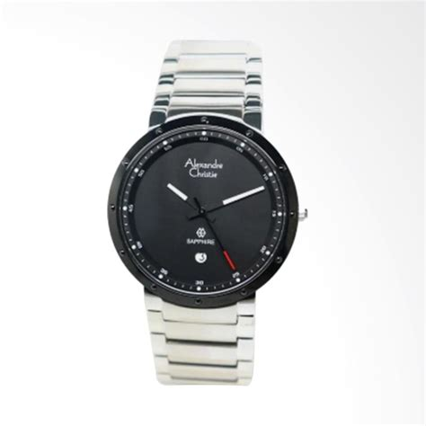 Jam Tangan Pria Alexandre Christie 3030 Otomatis Hitam Origi T1310 7 jual alexandre christie sapphire jam tangan pria hitam 8229 harga kualitas terjamin