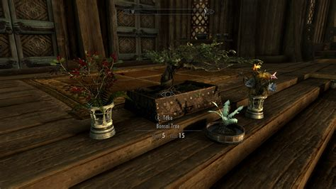 skyrim home decor house decorations plants and flowers at skyrim nexus