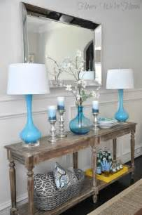 Entrance Table Decor Best 25 Foyer Table Decor Ideas On Console Table Decor Entry Table Decorations And