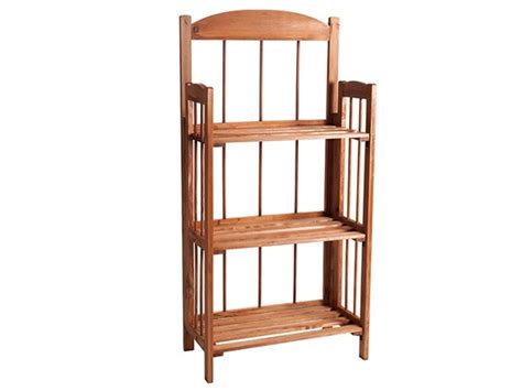 3 shelf light wood finish bookcase