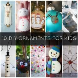 kids christmas ornament crafts home decorating interior
