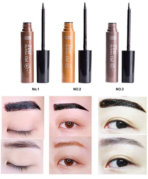 these 2 gels are the korean key to lasting eyebrow color koreaboo