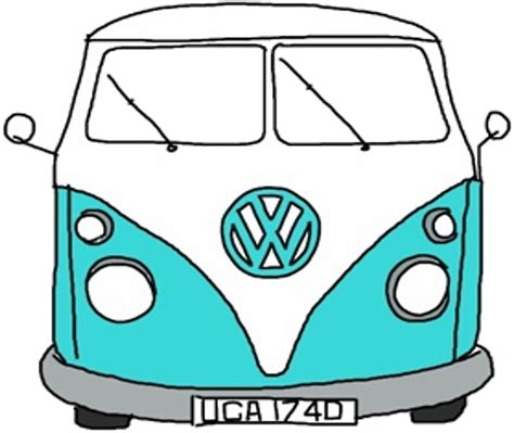 minivan volkswagen hippie hippie clipart volkswagen pencil and in color hippie