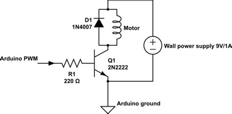 pn2222 base resistor arduino what determines how much current can flow through a 2n2222 a electrical engineering