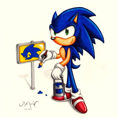 Sonic Painting Signposts By Rawn89 On Deviantart