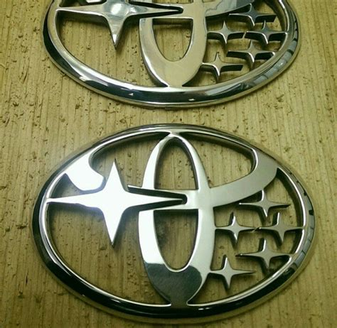 scion frs light up emblem this is literally a toyobaru badge and it s freaking