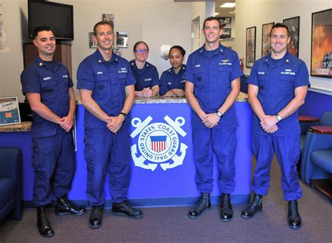 Coast Guard Recruiting Office by The Search For 4 000 171 Coast Guard Compass