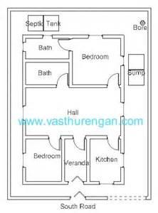 South Facing Vastu House Plans Vastu Plan For South Facing Plot 3 Vasthurengan