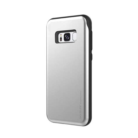Sale Sky Slide Bumper Card Holders For Galaxy S7 Edge Original samsung galaxy s8 sky slide bumper silver