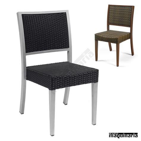 sillas ratan silla apilable im5080 sillas de terraza en aluminio y