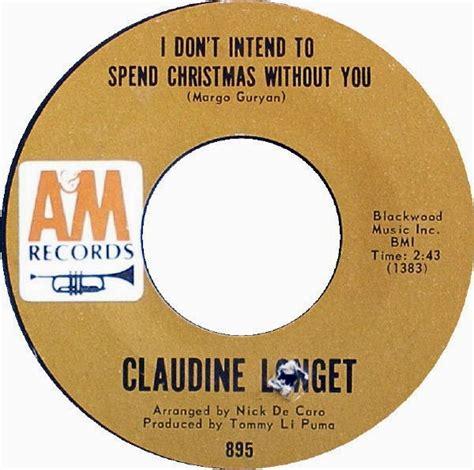 claudine longet christmas song snowflakes christmas singles