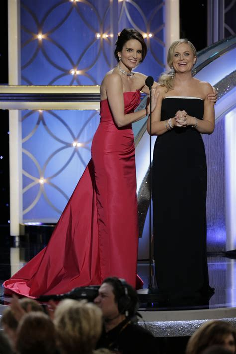 Top 5 At Golden Globes Award Show poehler photos photos 71st annual golden globe
