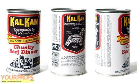 kal kan food back to the future kal kal food can replica prop