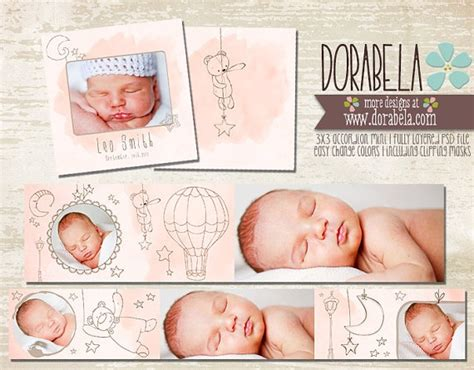 baby card templates psd 1000 images about album design on